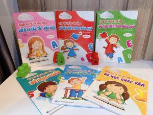 Bộ sách giúp bé tự tin vào lớp 1