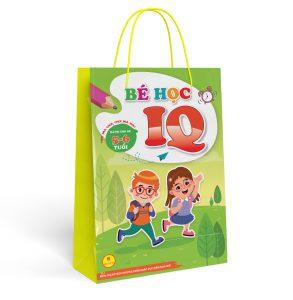 Sách bé học IQ 5-6 tuổi ( 1túi gồm 8 quyển)