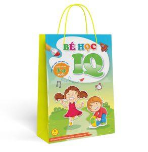 Set túi bé học IQ 3- 4 tuổi ( Bộ 8 quyển)